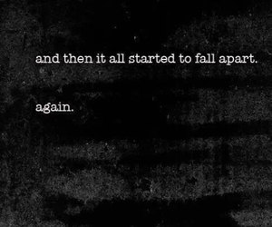 sad, quotes, and again image