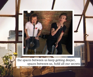 four, spaces, and louis tomlinson image