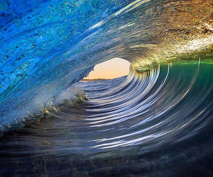 blue, colors, and ocean image