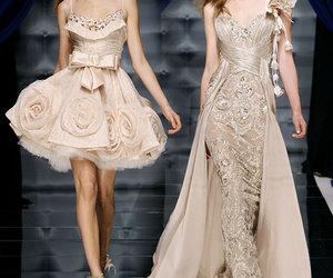 dress, Zuhair Murad, and model image