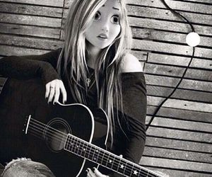 Avril Lavigne, guitar, and Avril image