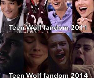 teen wolf, fandom, and dylan o'brien image