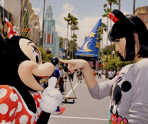 katy perry, disney, and minnie image