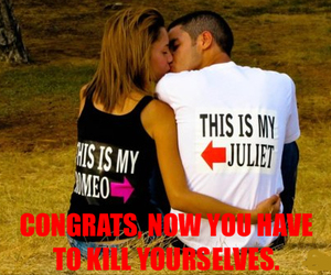 funny, juliet, and romeo image