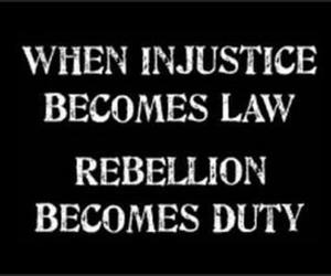 injustice, duty, and Law image
