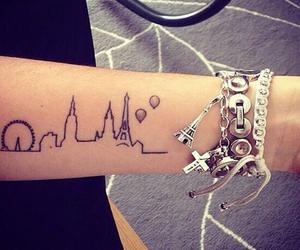 tattoo, paris, and london image