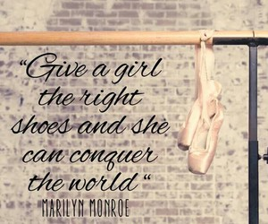 ballet, conquer, and Marilyn Monroe image