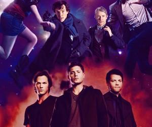 sherlock, supernatural, and doctor who image
