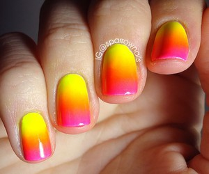 fashion, moda, and nails image
