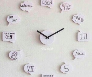 clock, cute, and simple image