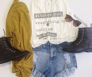 boots, fall, and inspiration image