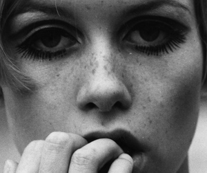 60s, twiggy, and girl image