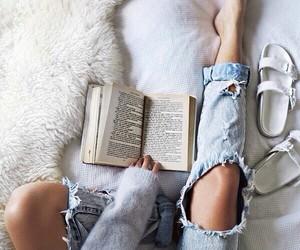 birkenstock, tumblr, and books image