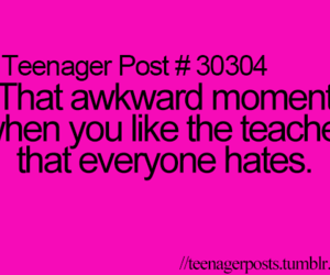 teenager post, funny, and teacher image