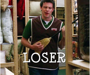 glee, loser, and cory monteith image