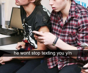 imagine, LUke, and 5sos image