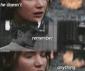 mockingjay, katniss, and peeta image