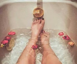 bath, bathroom, and grunge image