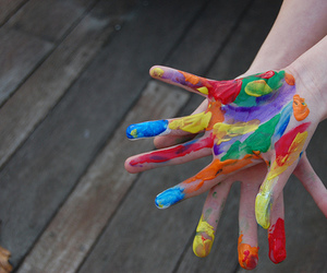 hands, colors, and photography image