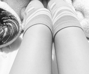 cold, girl, and legs image