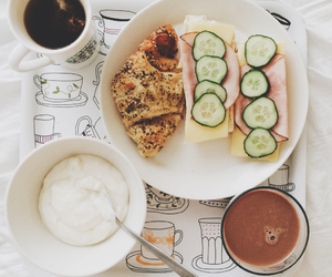 breakfast, healthy, and starbucks image