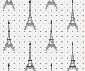 background, eiffel, and heart image