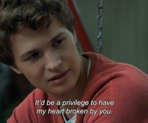 the fault in our stars, quotes, and tfios image