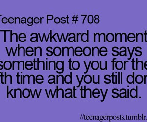 teenager post, funny, and teenager posts image