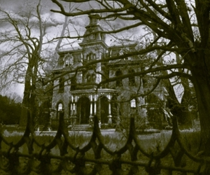 house and haunted image