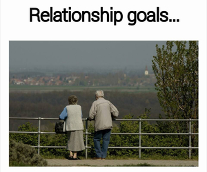 love, goals, and old image