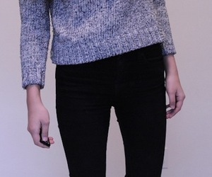 pale, soft grunge, and sweater image