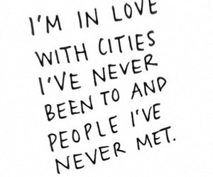 cities, quote, and life image
