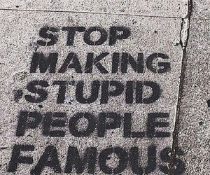 famous, grunge, and stop image