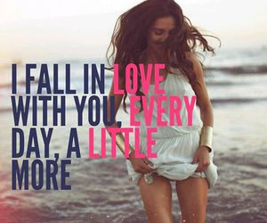 fall in love, him, and i hate you image