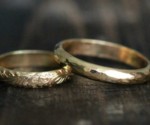 beautiful, couple, and gold image