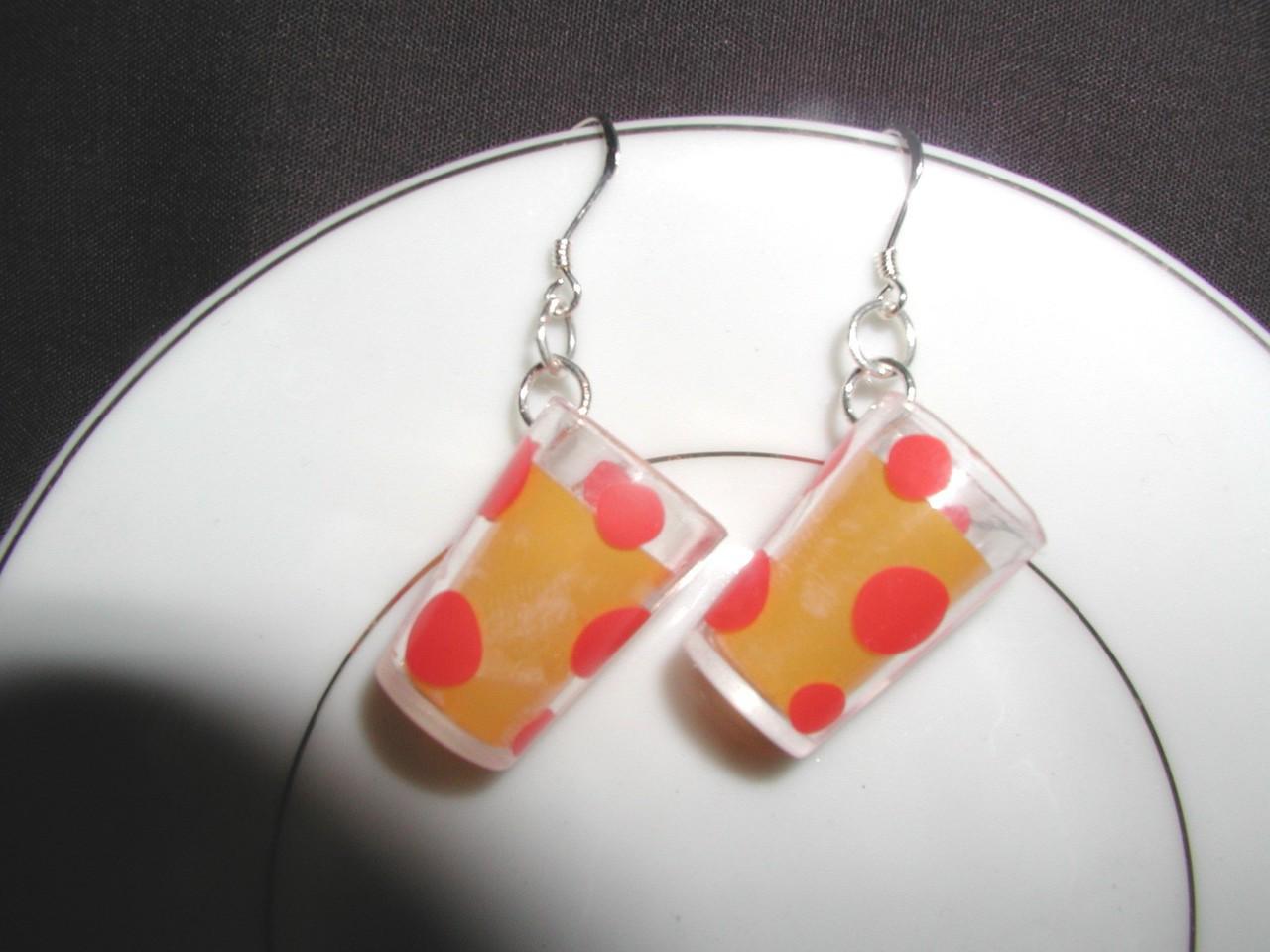 earrings, dangle earrings, and miniature jewelry image