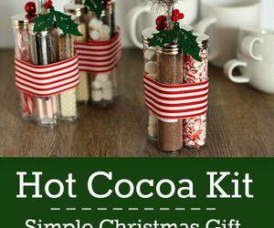 gift, christmas, and chocolate image