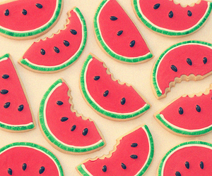 cool, wallpaper, and watermelon image