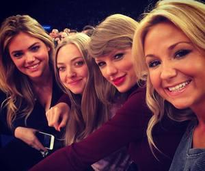 Taylor Swift, amanda seyfried, and kate upton image