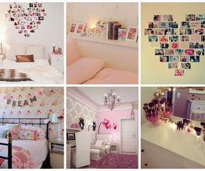 decor, girl, and room image