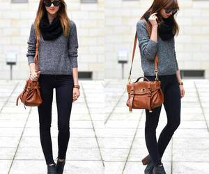 outfit, autumn, and fashion image