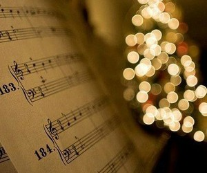 christmas, music, and light image