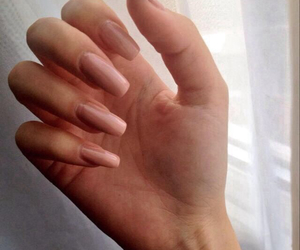 nails, beauty, and long image