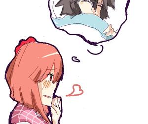 girl, horror, and nagisa image