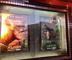 arrow, cw, and the flash image