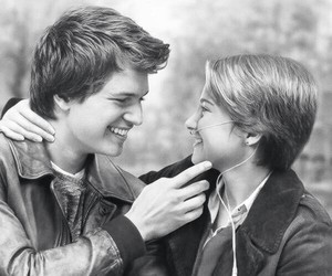 augustus, the fault in our stars, and hazel image