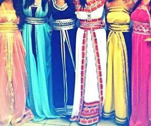 dress, caftan, and takchita image