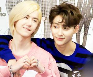 uniq, sungjoo, and yibo image