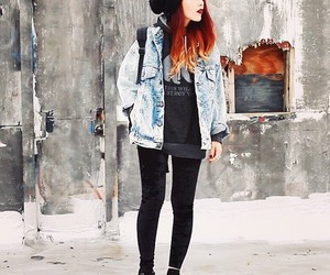 hair, fashion, and grunge image