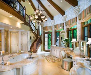 bathroom, fancy, and Houses image